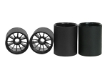 Rim Set For Tamiya F1 (4pcs)- Black
