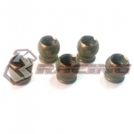 7075 Aluminum 5mm Hex Ball Stud L=5 (5 pcs) - Teflon Coated