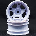 Mini 5W-Wheel, Wide Offset, White
