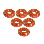 Shock Tower Shim M8 x 2mm (6pcs) - Orange