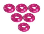 Shock Tower Shim M8 x 2mm (6pcs) - Pink