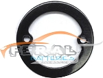 BLACK ALUMINUM TIMING RING (3)