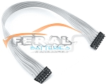 TEP1181 105mm White Ribbon Style Sensor Cable (Super Flexible)