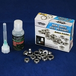 RC Ball Bearing Set w/ Oil For Tamiya M05 Pro Ver.II 18pcs