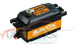 Savox SC-1251MG Low Profile High Speed Metal Gear Digital Servo-savsc1251mg