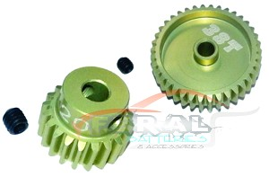 3Racing 48 Pitch Pinion Gear 15T - 46T