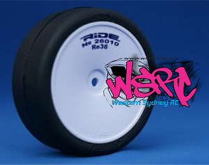 Ride Revolution 36 Tyre with Wheel and LT Foam Insert - ***Event Tyres NOT GLUED No Headed Tags****