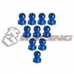 4.8MM Hex Ball Stud L=5 (10 pcs) - Blue